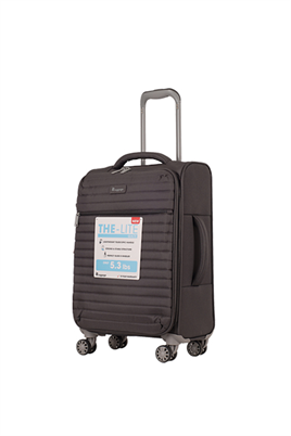 IT Luggage 2148 Kumaş Kabin Boy Valiz Gri