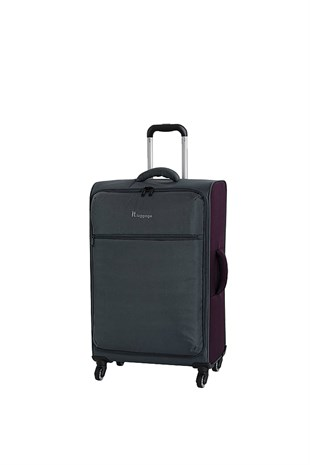 It Luggage 02232 Gri Kabin Boy Kumaş Valiz