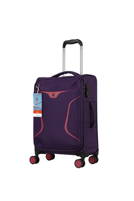 IT Luggage 2265 Kumaş Kabin Boy Valiz Mor