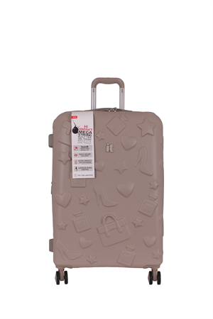 IT Luggage 02240 Bej Kabin Boy Abs Valiz
