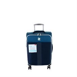 IT Luggage 2145 Kabin Boy Kumaş Valiz Lacivert