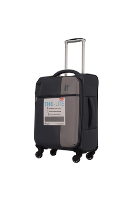 IT Luggage 2152 Kumaş Kabin Boy Valiz Gri