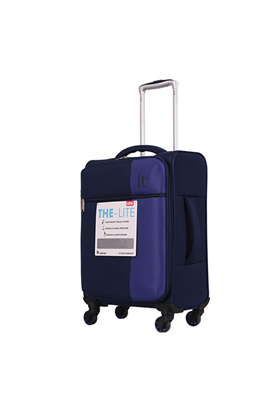IT Luggage 2152 Kumaş Kabin Boy Valiz Lacivert