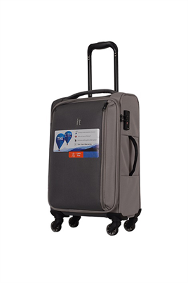 IT Luggage 2284 Kumaş Orta Boy Valiz Gri