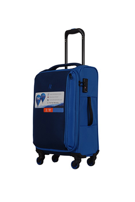 IT Luggage 2284 Kumaş Orta Boy Valiz Mavi